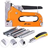 Swpeet 3-in-1 Staple Gun Kit with Staple Remover and 600 Staples Selection Pack