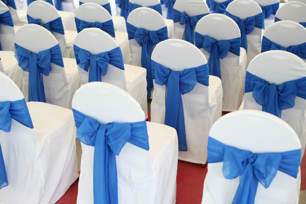 How To Cover Folding Chairs Inexpensively