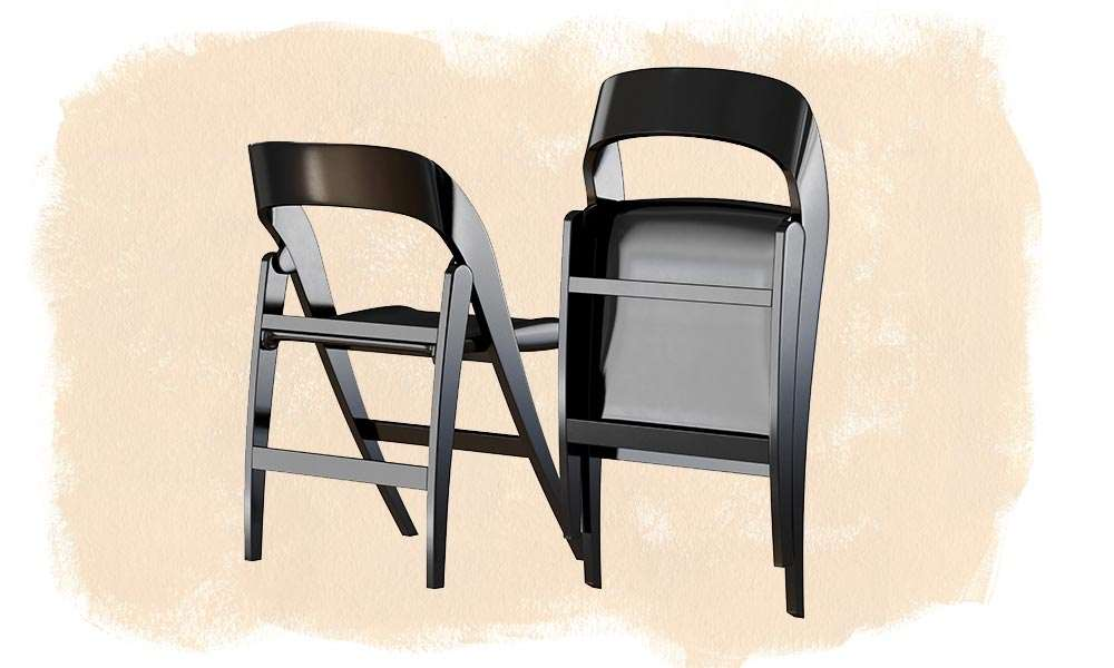 How Tall Is A Folding Chair