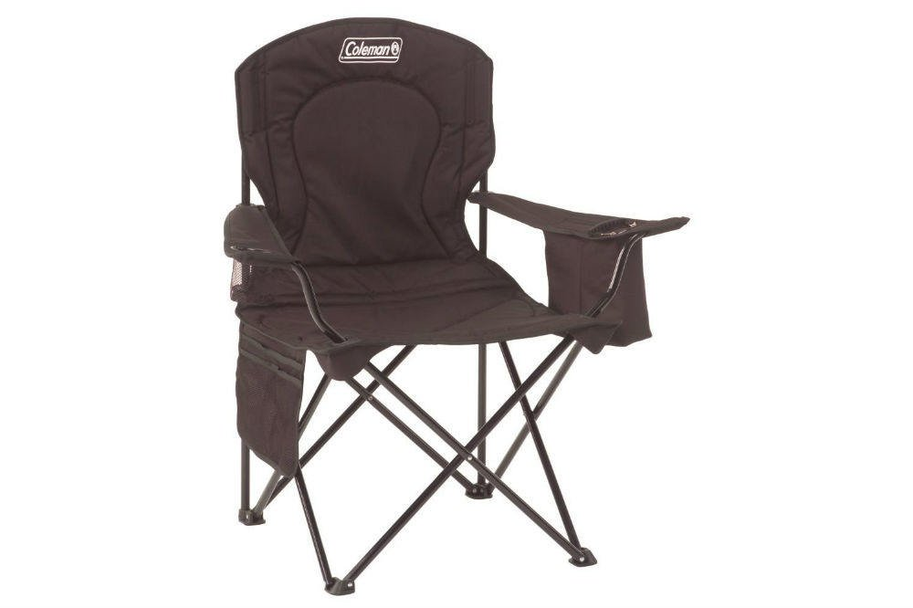 Coleman Portable Camping Quad Chair with Cooler Review